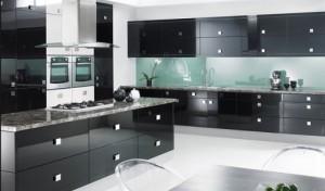Кухня черная под заказ